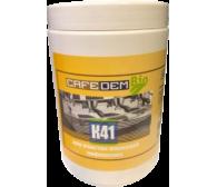 Таблетированное средство серии COFEDEM для очистки жерновов кофемолок, банка 600 гр.