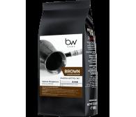 """Кофе """"Brown (коричневый)"""" BW, зерновой свежеобжаренный, бленд тёмн, 1кг"""