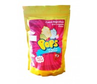 """Смесь для сладкой ваты """"POP'S"""" со вкусом клубники, 400гр"""