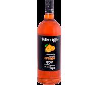 "Сироп ""Апельсин"" Miller&Miller 1л, СТЕКЛО"