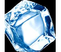 Лёд пищевой в кубиках, 1кг.