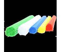 Палочки пластиковые для сах.ваты, 37см (100 шт)