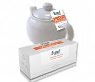 "Чай пакет. на чайник  Sigurd ""Апельсин с корицей"" 15*5 гр."