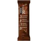"""Батончик протеиновый """"Ёбатон"""" со вкусом шоколада в шоколадной глазури, 50г"""